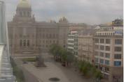 Náhledový obrázek webkamery Praha Václavské náměstí