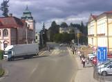 Náhledový obrázek webkamery Broumov - Městský úřad