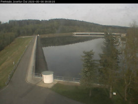 Náhledový obrázek webkamery přehrada Josefův Důl