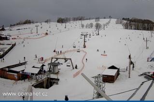 Náhledový obrázek webkamery Vrchlabí - skiareál