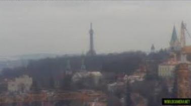 Náhledový obrázek webkamery Petřínská rozhledna