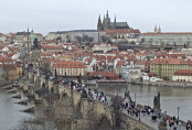 Náhledový obrázek webkamery Karlův most - Pražský hrad