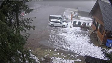 Náhledový obrázek webkamery Červenovodské sedlo - parkoviště