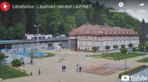 Náhledový obrázek webkamery Luhačovice - lázeňské náměstí
