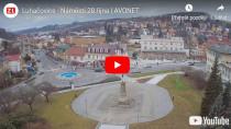 Náhledový obrázek webkamery Luhačovice - nám. 28. říjn