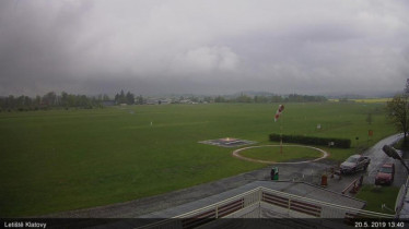 Náhledový obrázek webkamery Klatovy - letiště