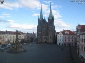 Náhledový obrázek webkamery Chrudim - Resselovo náměstí