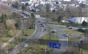 Náhledový obrázek webkamery Hradec Králové - křižovatka u soutoku