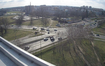 Náhledový obrázek webkamery Hradec Králové - křižovatka Mileta