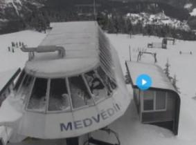 Náhledový obrázek webkamery Medvědín - Skiareál Špindlerův Mlýn
