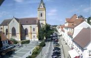 Náhledový obrázek webkamery Hluboká nad Vltavou - Náměstí Čsl. Armády