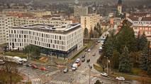 Náhledový obrázek webkamery České Budějovice - Finanční ředitelství, směr jih