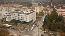 Náhledový obrázek webkamery České Budějovice - mánesová ulice