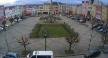 Náhledový obrázek webkamery Broumov - Mírovské náměstí