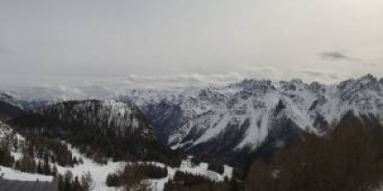 Náhledový obrázek webkamery Forni di Sopra - Malga Varmost 1758m