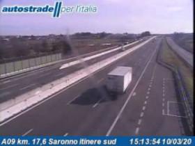 Náhledový obrázek webkamery Gerenzano - A09 - KM 17,6