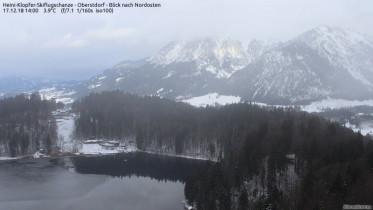 Náhledový obrázek webkamery Oberstdorf - Freibergsee