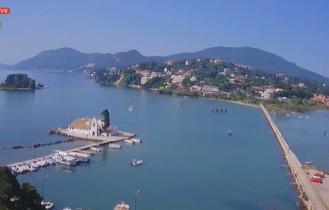 Náhledový obrázek webkamery Korfu