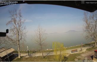 Náhledový obrázek webkamery Balatonfenyves - Balaton
