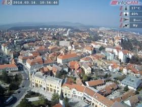 Náhledový obrázek webkamery Veszprém