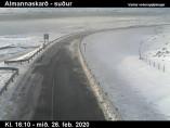 Náhledový obrázek webkamery Almannaskarð - Hringvegur