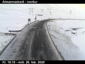 Náhledový obrázek webkamery Almannaskarð - Hringvegur 2
