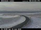 Náhledový obrázek webkamery Blönduós - jih
