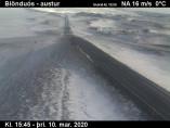 Náhledový obrázek webkamery Blönduós - východ