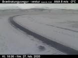 Náhledový obrázek webkamery Bræðratungu Route 359 - západ