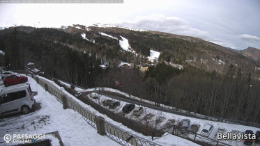 Náhledový obrázek webkamery Abetone - Piste Monte Gomito