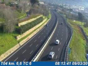 Náhledový obrázek webkamery Agnano - Traffic T04 - KM 006,6