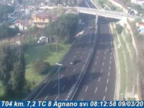 Náhledový obrázek webkamery Agnano - Traffic T04 - KM 007,2