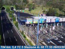 Náhledový obrázek webkamery Agnano - Traffic T04 - KM 005,4