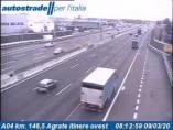 Náhledový obrázek webkamery Agrate Brianza - Traffic A04 - KM 147