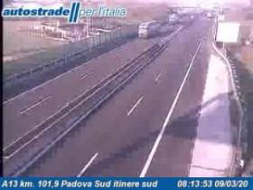 Náhledový obrázek webkamery Albignasego Traffic A13