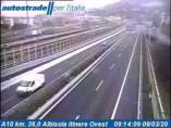 Náhledový obrázek webkamery Albisola Superiore - Traffic A10 - KM 36,0