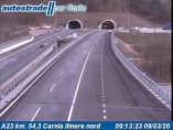 Náhledový obrázek webkamery Alesso - Traffic A23 - KM 54,3