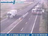 Náhledový obrázek webkamery Altedo - Traffic A13 - KM 21,0