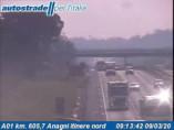 Náhledový obrázek webkamery Anagni - Traffic A01 - KM 605,7