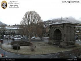 Náhledový obrázek webkamery Aosta - Arco d'Augusto