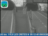 Náhledový obrázek webkamery Aosta - Traffic A5 - KM 110,9