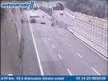 Náhledový obrázek webkamery Arenzano - Traffic A10 - KM 19,4