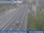 Náhledový obrázek webkamery Arenzano - Traffic A10 - KM 20,0