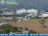 Náhledový obrázek webkamery Avezzano - Traffic A25 - KM 087,1