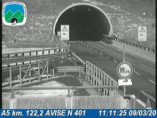 Náhledový obrázek webkamery Avise - Traffic A5 - KM 122,2