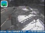 Náhledový obrázek webkamery Avise - Traffic A5 - KM 120,3