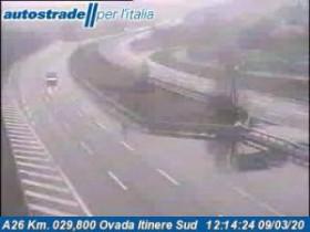 Náhledový obrázek webkamery Belforte Monferrato - A26 - KM 29,8
