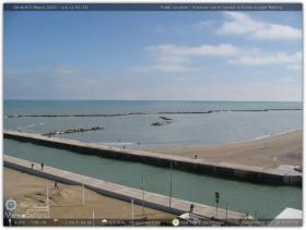 Náhledový obrázek webkamery Bellaria-Igea Marina - Porto Canale
