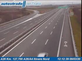 Náhledový obrázek webkamery Biandrate - A26 - KM 127,7