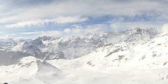 Náhledový obrázek webkamery Breuil-Cervinia - Bec Carre